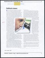 Political science, California Monthly, 2004 September
