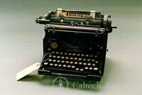 Typewriter, standard Underwood no. 5