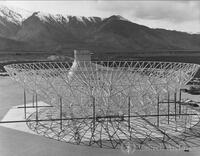 130-foot radio telescope dish