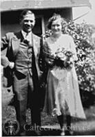 Lee and Doris DuBridge's wedding picture