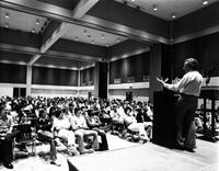Richard Feynman lecturing at Cal State Long Beach