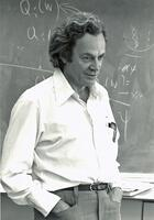 Richard Feynman, casual pose