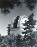 "100"" Hooker telescope dome, shutter open -Mt.Wilson"