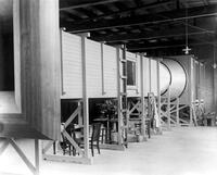 A. A. Merrill's original wind tunnel