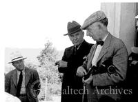 Robert Millikan and John Anderson on Palomar Mountain
