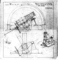 """""""Study of an Equatorial Turret Mounting to carry a 200"""" Star and a 60"""" Solar Telescope"""""""