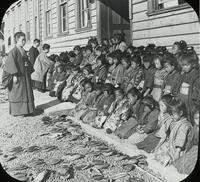 Japan, School for girls