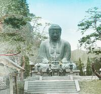 Japan, the Great Buddha of Kamakura