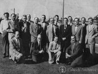 Group at a conference