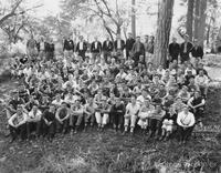 The class of '41 at Freshman Camp
