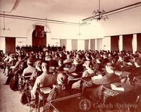Assembly Room, East Hall, Throop Polytechnic Institute