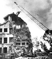 Demolition of Throop Hall