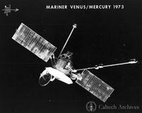 Mariner 10 spacecraft Venus/Mercury