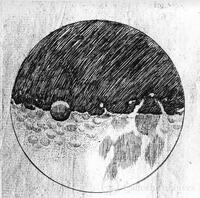 Galileo, the moon from Sidereus Nuncius (The Sidereal Messenger), Venice, 1610