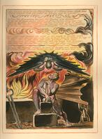 "William Blake's ""Jerusalem,"" plate 6"
