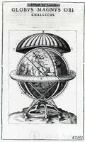 The great brass globe, from Tycho Brahe, Astronomiae Instauratae Mechanica