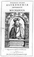 Portrait of Tycho Brahe, from Astronomiae Instauratae Mechanica