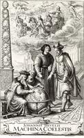 Frontispiece from book by Hevelius