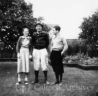 Jacques Monod with Mr. and Mrs. Henry Clifford in Pasadena