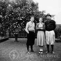 Jacques Monod with Mrs. and Mrs. Henry Clifford in Pasadena