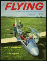 Silent adventure, Flying Vol. 60, No. 6, 1957 June