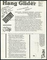 August 23, 1977: beginning of man-flight, Hang Glider , Vol. 4, no. 28, 1977 August 8