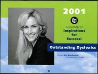 2001 Outstanding Dyslexics calendar, 2001