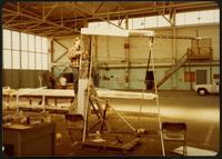Building the Gossamer Albatross at Terminal Island, CA, 1979 March