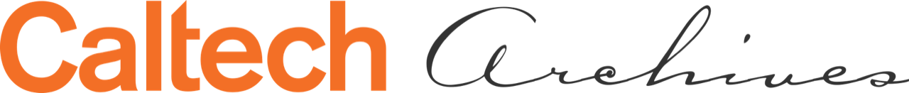 Caltech Archives logo